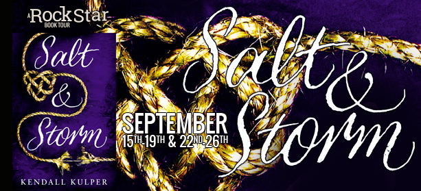 Blog Tour: Salt & Storm by Kendall Kulper | Review + Giveaway