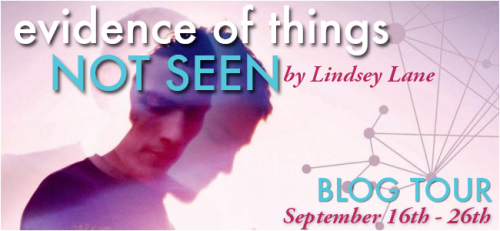 Blog Tour: Evidence of Things Not Seen by Lindsey Lane | Review + Interview