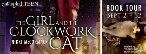 Blog Tour: The Girl and the Clockwork Cat by Nikki McCormack | Review + Giveaway