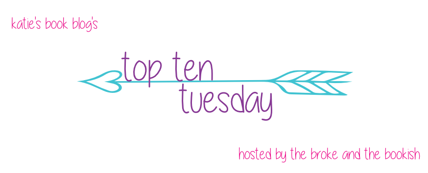 top ten tuesday 4