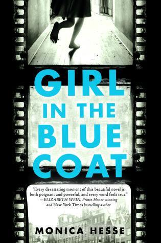Girl in teh blue coat