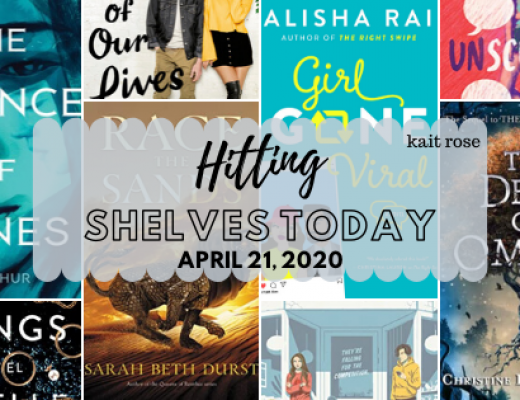 Hitting Shelves Today | April 21 New Book Releases