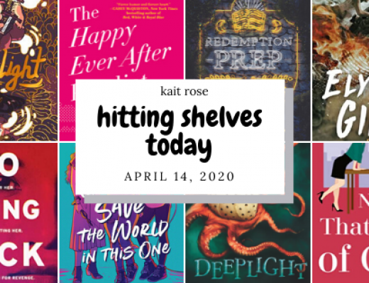 Hitting Shelves Today | April 14 New Book Releases