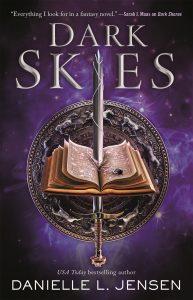 dark skies danielle l jensen book cover