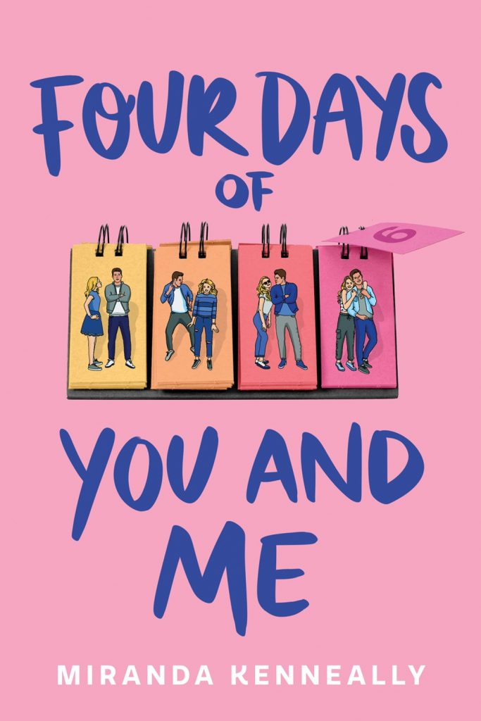four days of you and me miranda kenneally book cover