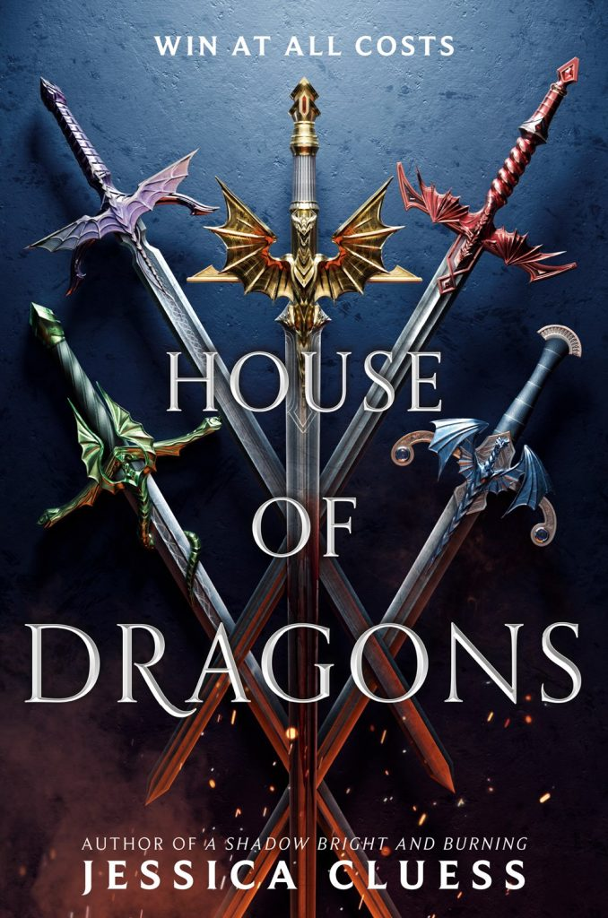 house of dragons jessica cluess book cover