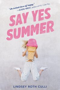 say yes summer lindsey roth culli book cover