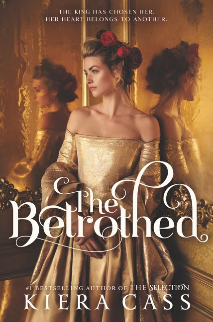 the betrothed kiera cass book cover