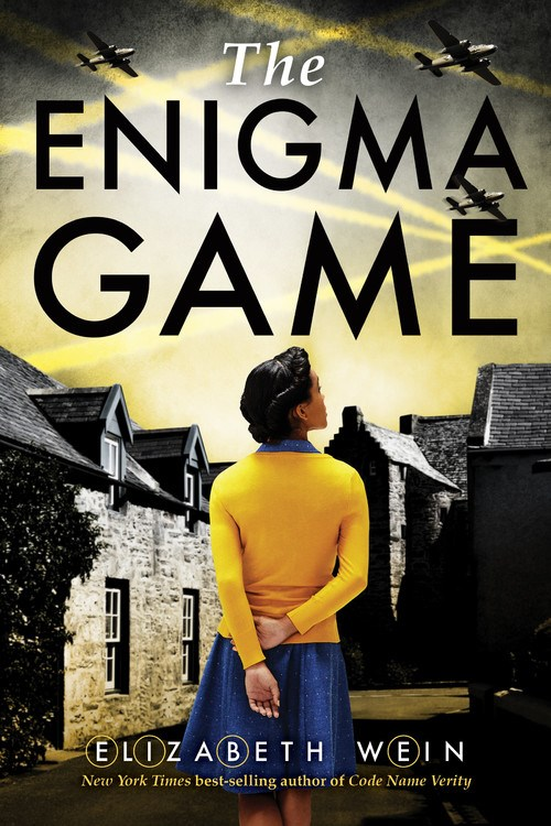 the enigma game elizabeth wein book cover