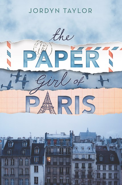the paper girl of paris jordyn taylor book cover
