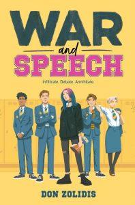 war and speech don zolidis book cover