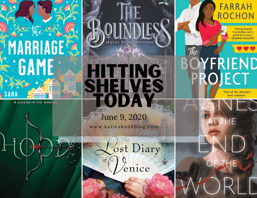Hitting Shelves Today | June 9 New Book Releases
