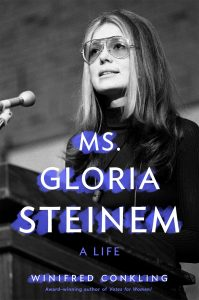 ms gloria steinem a life winifred conkling book cover
