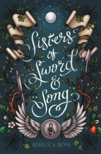 sisters of sword and song rebecca ross book cover