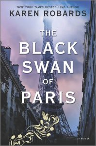 the black swan of paris karen robards book cover