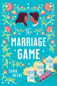 the marriage game sara desai book cover