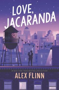 love, jacaranda alex flinn book cover