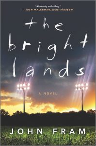 the bright lands john fram book cover